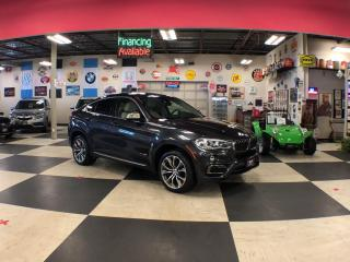 Used 2016 BMW X6 XDRIVE 3.5I NAVI   SPORT PKG 360 CAMERA H.U.D for sale in North York, ON