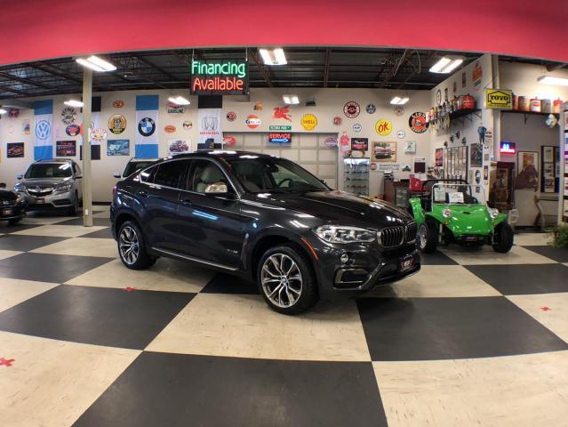 2016 BMW X6 XDRIVE 3.5I NAVI   SPORT PKG 360 CAMERA H.U.D