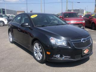 Used 2014 Chevrolet Cruze 2LT*RS*BACKUP CAM*HEATED LEATHER SEATS* for sale in London, ON
