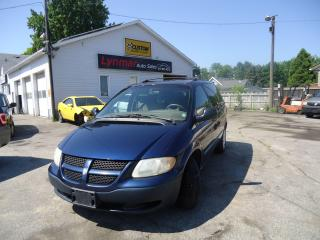 Used 2002 Dodge Caravan SE for sale in Sarnia, ON