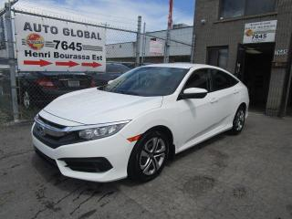 Used 2016 Honda Civic LX 4 portes CVT for sale in Montréal, QC