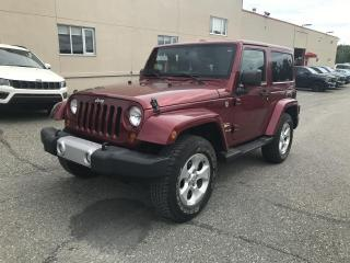Used 2013 Jeep Wrangler 4 RM 2 portes Sahara for sale in Sherbrooke, QC