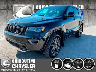 Used 2017 Jeep Grand Cherokee Limited édition 75e anniversaire 4 porte for sale in Chicoutimi, QC