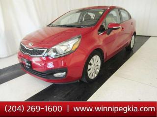 Used 2014 Kia Rio EX *Always Owned In MB!* for sale in Winnipeg, MB