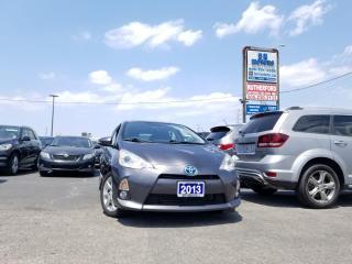 Used 2013 Toyota Prius c HBK SUNROOF  AIR HYBRID ALLOYS for sale in Brampton, ON
