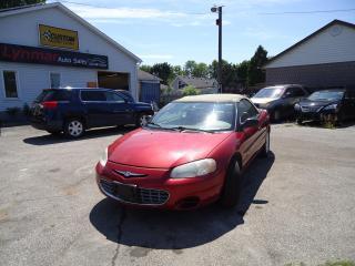 Used 2003 Chrysler Sebring GTC for sale in Sarnia, ON