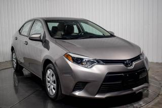 Used 2016 Toyota Corolla Le A/c for sale in St-Hubert, QC