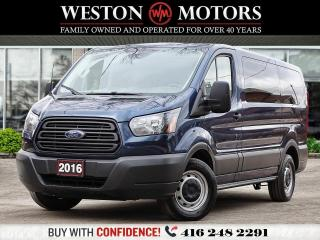 Used 2016 Ford Transit 150 LOW ROOF*REAR WINDOWS*SHELVING*REVERSE CAMERA!!* for sale in Toronto, ON