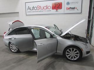 Used 2013 Cadillac ATS AWD**CAMERA RECUL**TOIT PANO**CUIR for sale in Mirabel, QC
