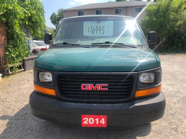 2014 GMC Savana 3500 Extended Cargo Van