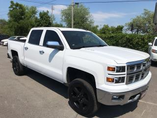 Used 2015 Chevrolet Silverado 1500 LTZ Z-71 ** CREW, NAV, BACK CAM, SUNROOF  ** for sale in St Catharines, ON