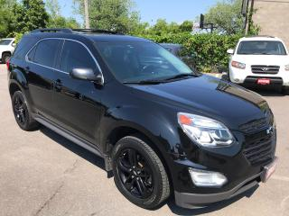 Used 2017 Chevrolet Equinox LT ** MIDNIGHT PKG, AWD, LETHR, NAVI, SUNROOFF** for sale in St Catharines, ON