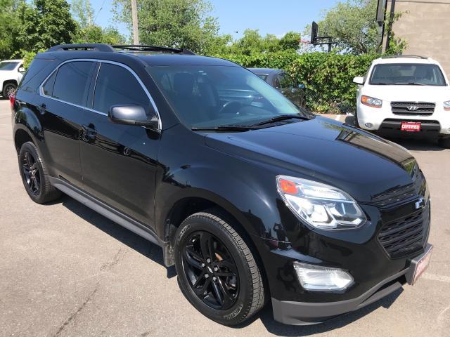 2017 Chevrolet Equinox LT ** MIDNIGHT PKG, AWD, LETHR, NAVI, SUNROOFF**