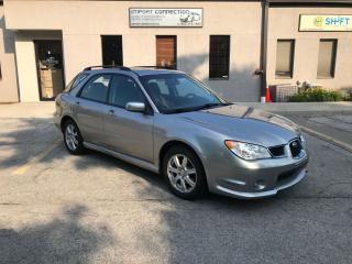 Used 2007 Subaru Impreza 5dr Wgn Auto 2.5i,SUNROOF,CERTIFIED ! WARRANTY .. for sale in Burlington, ON