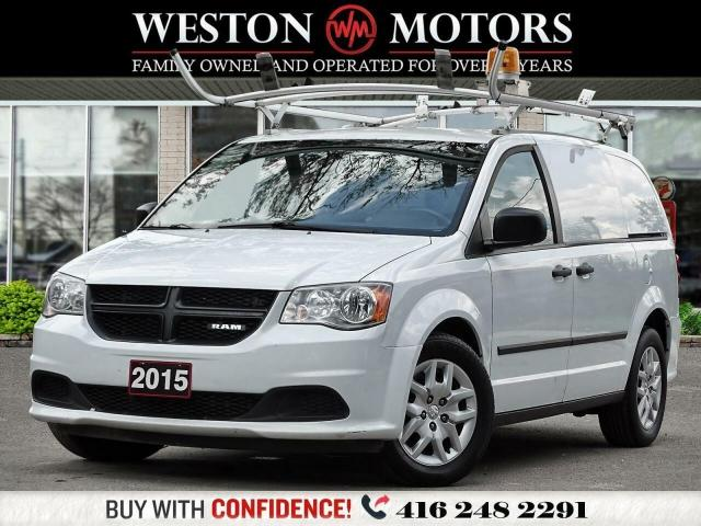 2015 Dodge Ram Van 119WB*6CYL*2WD*REV CAM*ROOF RACK*PULL OUT SHELVING