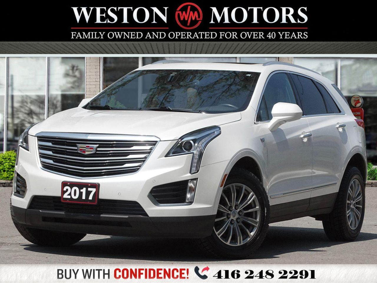 2017 Cadillac XT5 PANORAMIC SUNROOF*LEATHER*REVERSE CAMERA