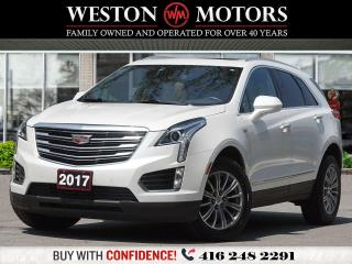 Used 2017 Cadillac XT5 PANORAMIC SUNROOF*LEATHER*REVERSE CAMERA* for sale in Toronto, ON