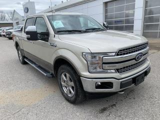 Used 2018 Ford F-150 Lariat Chrome Supercrew 4X4 for sale in Harriston, ON