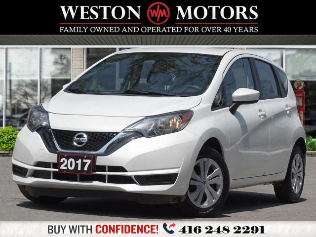 2017 Nissan Versa Note S*AUX*A MUST SEE!!*