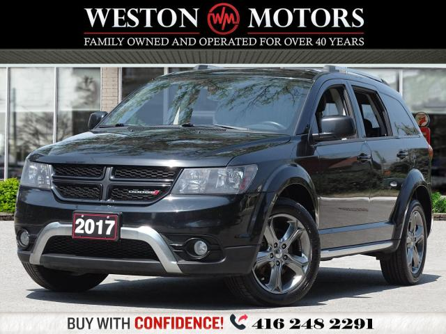 2017 Dodge Journey CROSSROAD*7 SEATER*LEATHER*REVERSE CAMERA*