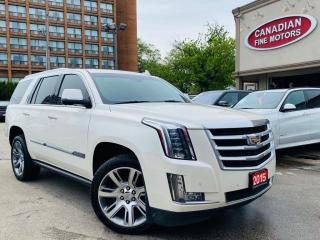 Used 2015 Cadillac Escalade PREMIUM PKG | NAVI | CAM | NO ACCDIENT | DUAL DVD for sale in Scarborough, ON