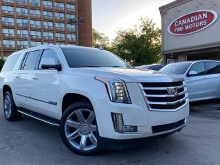 Used 2015 Cadillac Escalade ESV ESV PREMIUM PKG | NAVI | CAM | ROOF | ORANGE INT for sale in Scarborough, ON