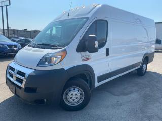 Used 2016 RAM Cargo Van Promaster 3500 Cargo Van for sale in Guelph, ON