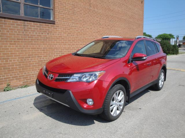 2015 Toyota RAV4 LIMITED/ NAVI/ CAMERA/ LEATHER/ SUNROOF/