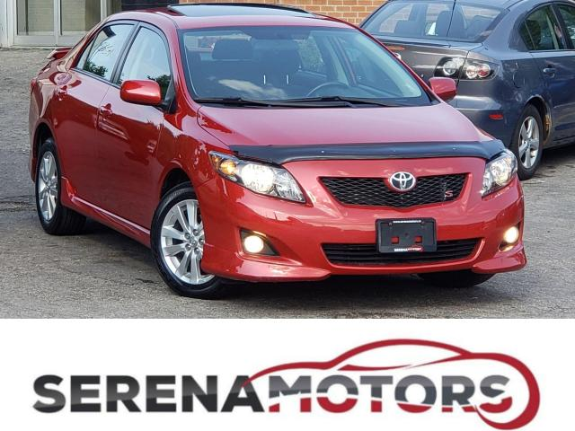 2010 Toyota Corolla S | AUTO | SUNROOF | NO ACCIDENTS | LOW KM