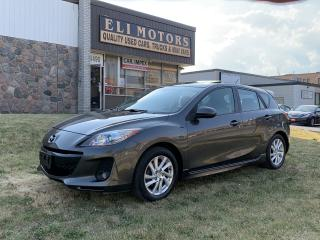 Used 2012 Mazda MAZDA3 GT-SKYACTIV AUTOMATIC LEATHER  SUNROOF  BLUETOOTH for sale in North York, ON