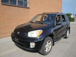 Used 2003 Toyota RAV4 LIMITED  for sale in Oakville, ON