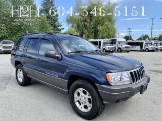 Used 2001 Jeep Grand Cherokee Laredo for sale in Surrey, BC
