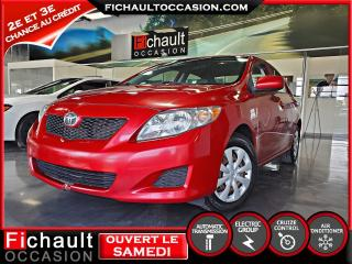 Used 2009 Toyota Corolla Berline boîte automatique, CE for sale in Châteauguay, QC