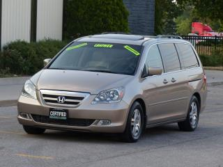 Used 2007 Honda Odyssey LEATHER,TOURING,NAVI,REAR-CAM,LOADED,NO-ACCIDENT, for sale in Mississauga, ON