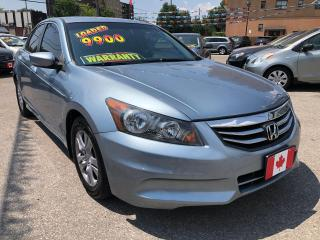 Used 2011 Honda Accord Sedan SE for sale in Scarborough, ON