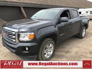 Used 2016 GMC Canyon SLE Crew CAB SWB 4WD 3.6L for sale in Calgary, AB