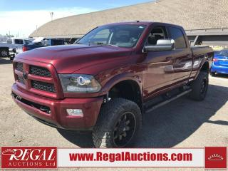 Used 2017 RAM 3500 Laramie Crew CAB SWB 4WD 6.7L for sale in Calgary, AB