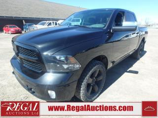 Used 2018 RAM 1500 BIG Horn Crew CAB SWB 4WD 3.0L for sale in Calgary, AB