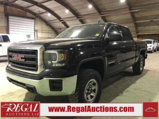 Used 2015 GMC Sierra 1500 Base 4D Crew CAB 4WD for sale in Calgary, AB
