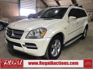 Used 2012 Mercedes-Benz GL350 GL-CLASS Bluetec 4D Utility 4WD for sale in Calgary, AB