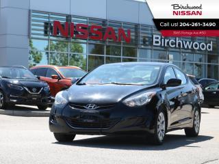 Used 2013 Hyundai Elantra GL for sale in Winnipeg, MB