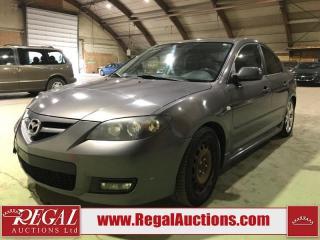 Used 2007 Mazda MAZDA3 GT 4D Sedan 2WD for sale in Calgary, AB