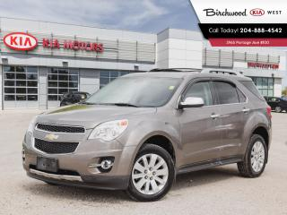 Used 2011 Chevrolet Equinox LTZ Sunroof | Heated Seats | V6 | for sale in Winnipeg, MB