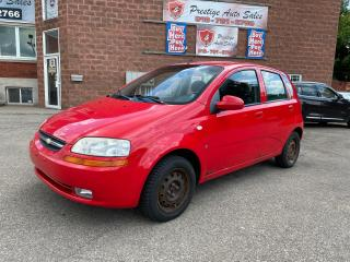 Used 2007 Chevrolet Aveo LS/AUTOMATIC for sale in Cambridge, ON