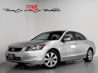 Used 2010 Honda Accord Sedan EX-L | LEATHER | SUNROOF | CAMERA I CLEAN CARFRAX for sale in Vaughan, ON