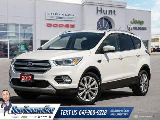 Used 2017 Ford Escape Titanium for sale in Milton, ON