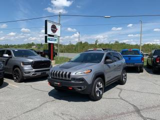 Used 2016 Jeep Cherokee 3.2L Trailhawk 4WD 1-Owner Trade-IN!! for sale in Sudbury, ON