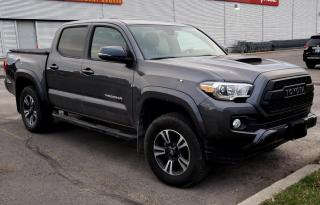Used 2019 Toyota Tacoma TRD Sport 6 SPD!! SHORT BOX  LEATHER  ROOF  NAVI for sale in Ottawa, ON