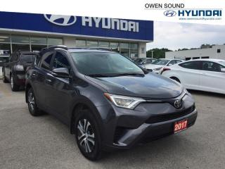 Used 2017 Toyota RAV4 LE for sale in Owen Sound, ON