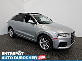 Used 2016 Audi Q3 Komfort AWD TOIT OUVRANT - A/C - Caméra de Recul for sale in Laval, QC